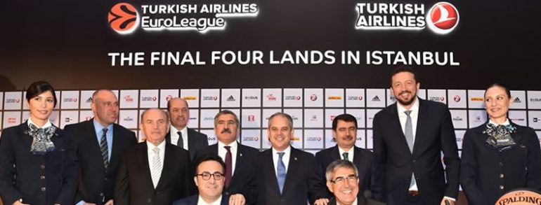 Istanbul to host 2017 EuroLeague Final Four…