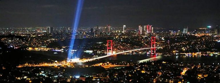 Erdoğan addresses hundreds of thousands on Istanbul bridge to commemorate coup attempt victims