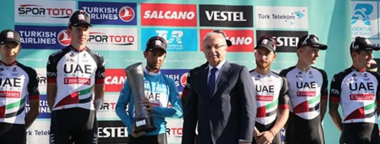 Italian Cyclist Ulissi Wins the 53rd Presidential Cycling Tour of Turkey